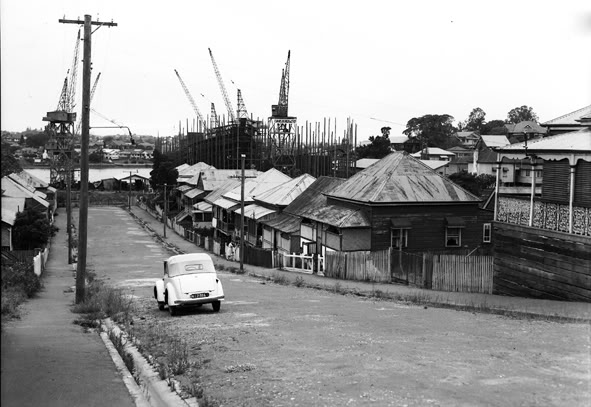 Spring Hill Brisbane in 1950